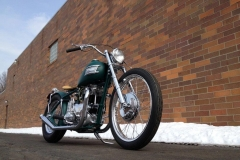 Jerry Dixey and Mary Ann Karas 1957 Triumph TR-6 650cc pre unit