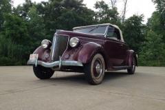 Larry Brunkala's garage find 1936 Ford Roadster